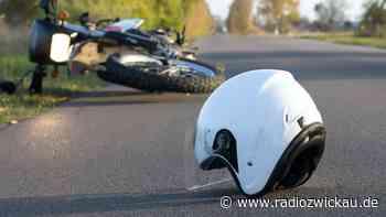 Vorfahrt genommen - Biker in Waldenburg schwer verletzt - Radio Zwickau