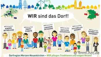 Startprojekte festlegen: Dorfentwicklung in Merzen und Neuenkirchen nimmt schärfere Konturen an - noz.de - Neue Osnabrücker Zeitung