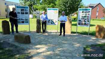 "Projekt der Hülsenstiftung: Infopunkt ""Neuenkirchen und der Gehn"" im Bürgerpark vollendet - noz.de - Neue Osnabrücker Zeitung"