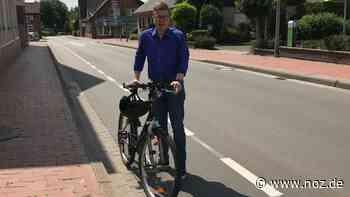 Neue Markierung: Freude über Fahrrad-Schutzstreifen an der Alten Poststraße in Neuenkirchen - noz.de - Neue Osnabrücker Zeitung