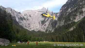 Berchtesgaden: Bergwacht und Hubschrauber am Mannlgrat und an Blaueishütte im Einsatz - bgland24.de