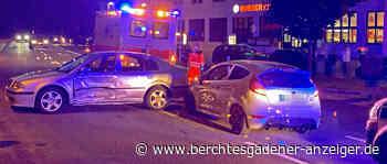 Zusammenstoß am Berchtesgadener Bahnhof fordert drei Verletzte - Berchtesgadener Anzeiger