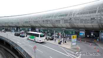 Autofahrer überlebt 16-Meter-Sturz am Flughafen Düsseldorf