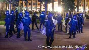 Stuttgarter Krawallnacht: Polizei beleuchtet Familienhintergrund der Verdächtigen