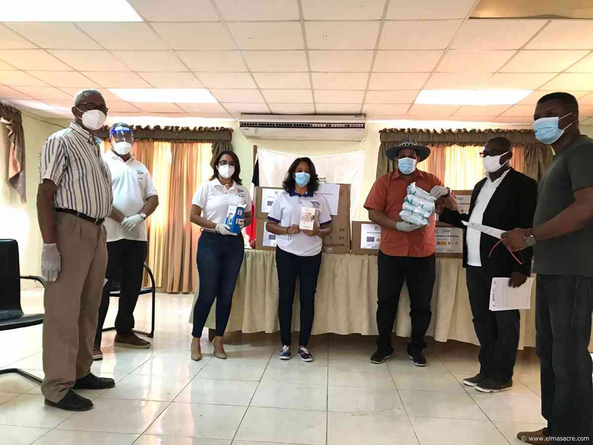 FEDOMU entrega desde Dajabón kits de higienización a ocho Alcaldías de RD y Haití - El Masacre