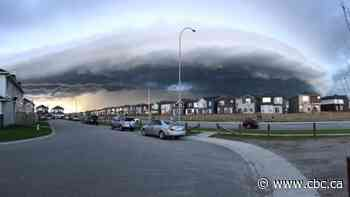 Severe thunderstorm warning issued for Airdrie, Cochrane