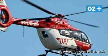 B 110 bei Anklam: Quad-Fahrer bei Unfall schwer verletzt - Ostsee Zeitung