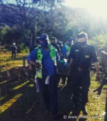 Rescataron un excursionista lesionado en la Quebrada de San Lorenzo - La Radio de Martin Grande