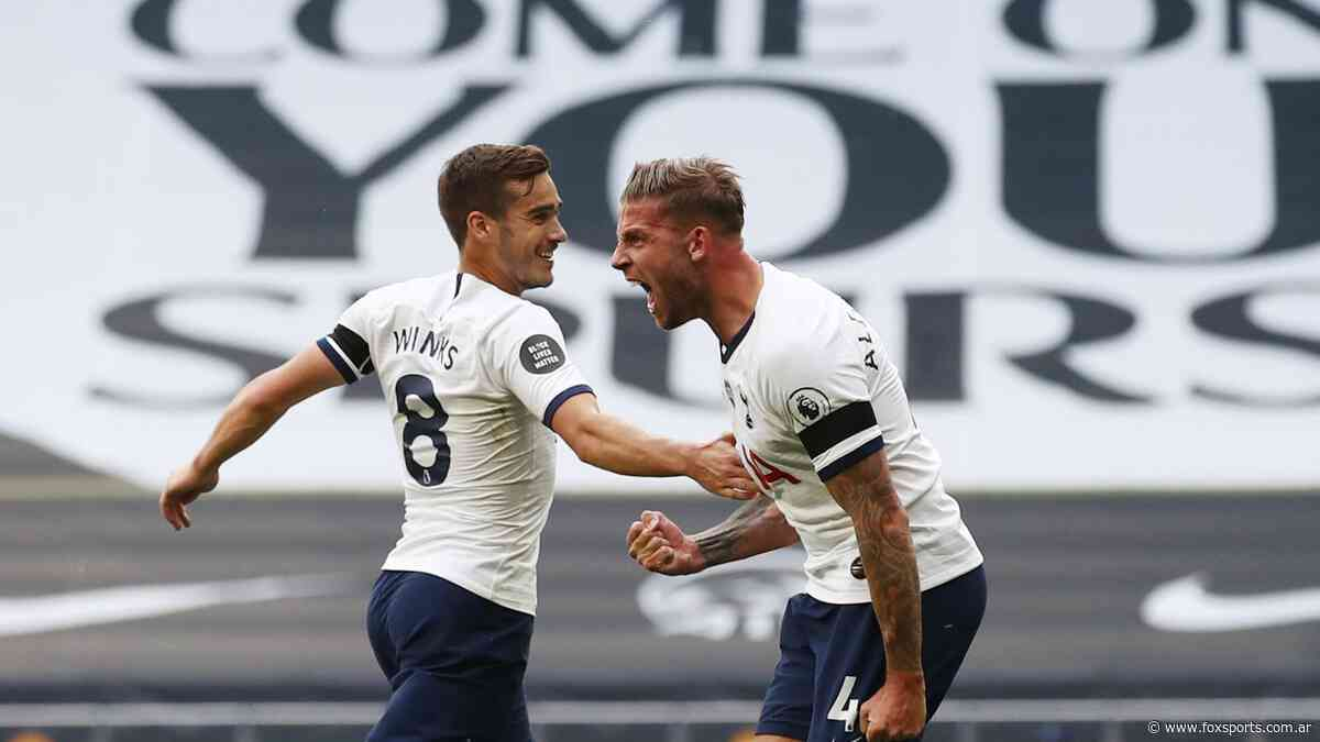 Alderweireld anotó en el clásico ante Arsenal - Fox Sports