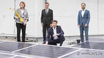Solaranlage auf dem JSG-Dach in Neukirchen-Vluyn am Start - NRZ