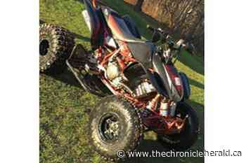 ATV stolen from New Glasgow shed still missing - TheChronicleHerald.ca