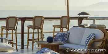 La dolce vita è in un negozio a picco sul mare di Capri, da raggiungere in barca - elledecor.com