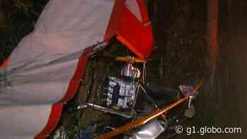 Homem morre após queda de ultraleve próximo ao Aeroclube de Biritiba Mirim - G1