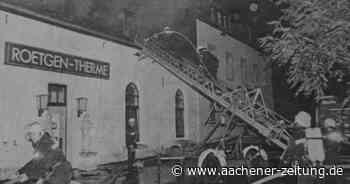Vor 25 Jahren: Als Roetgen ganz knapp einer Katastrophe entgeht - Aachener Zeitung