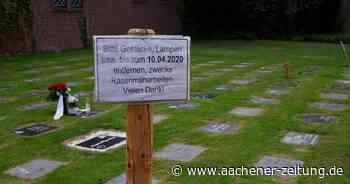 Baesweiler setzt letzte Reservefläche ein: Wiese wird für Friedhofserweiterung hergerichtet - Aachener Zeitung