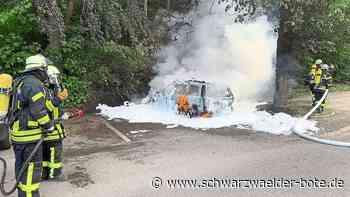 Eutingen: Anwohner bemerkt Brand und alarmiert Wehr - Eutingen - Schwarzwälder Bote