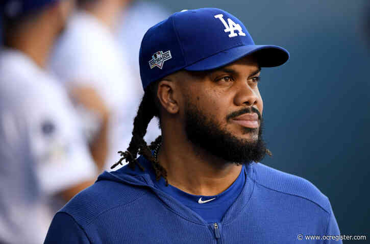 Dodgers closer Kenley Jansen reports, says contracting coronavirus was why he was late
