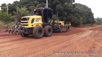 Prefeitura de Aquidauana faz manutenção das estradas na região de Taunay - O Pantaneiro