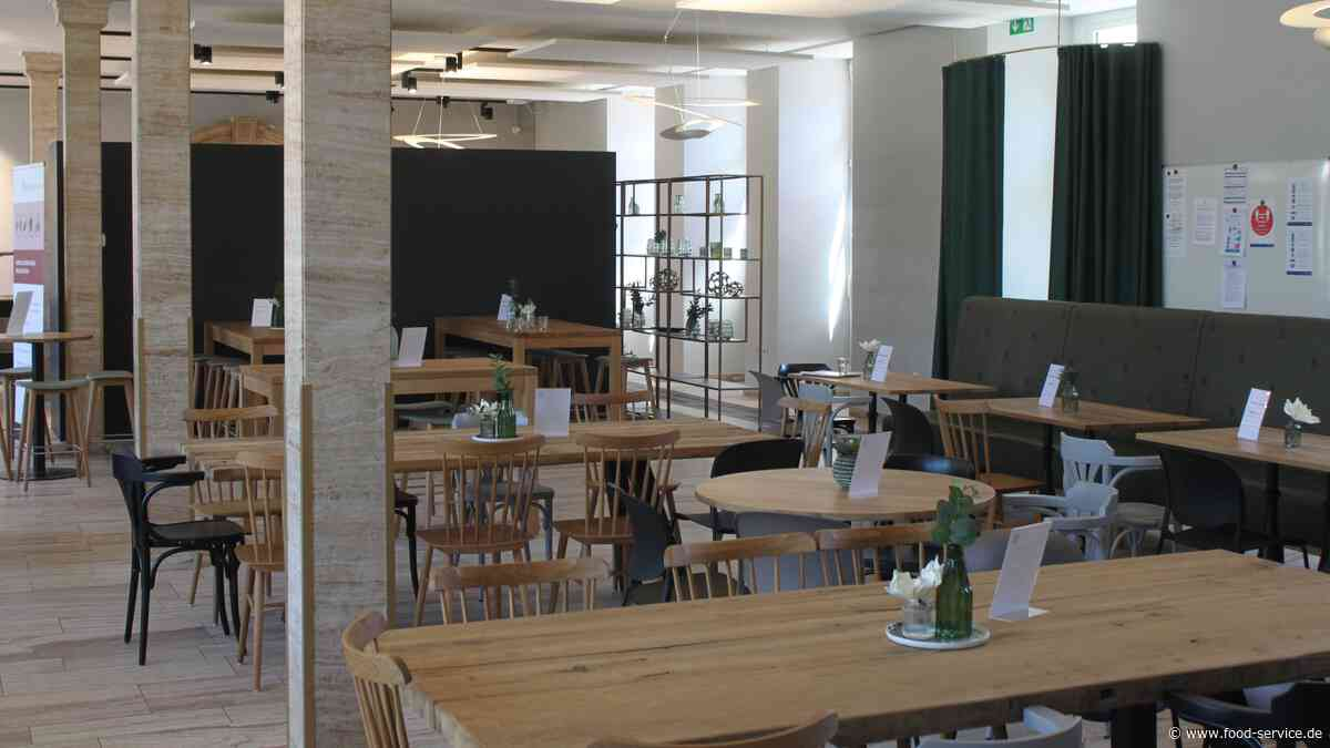 SRH Dienstleistungen / European Business School: EBS-Mensa in Oestrich-Winkel eröffnet - FOOD SERVICE