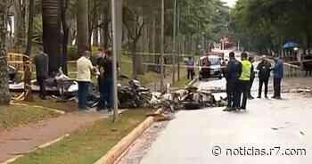 Após queda de avião em SP, avenida Braz Leme é totalmente liberada - HORA 7