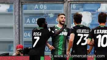 """Sassuolo, Berardi: """"Boga fa cose incredibili. Voglio l'Europeo, convincerò Mancini"""" - TUTTO mercato WEB"""