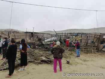 Áncash: voraz incendio en Huarmey deja cuatro personas damnificadas - Diario Digital Chimbote en Línea