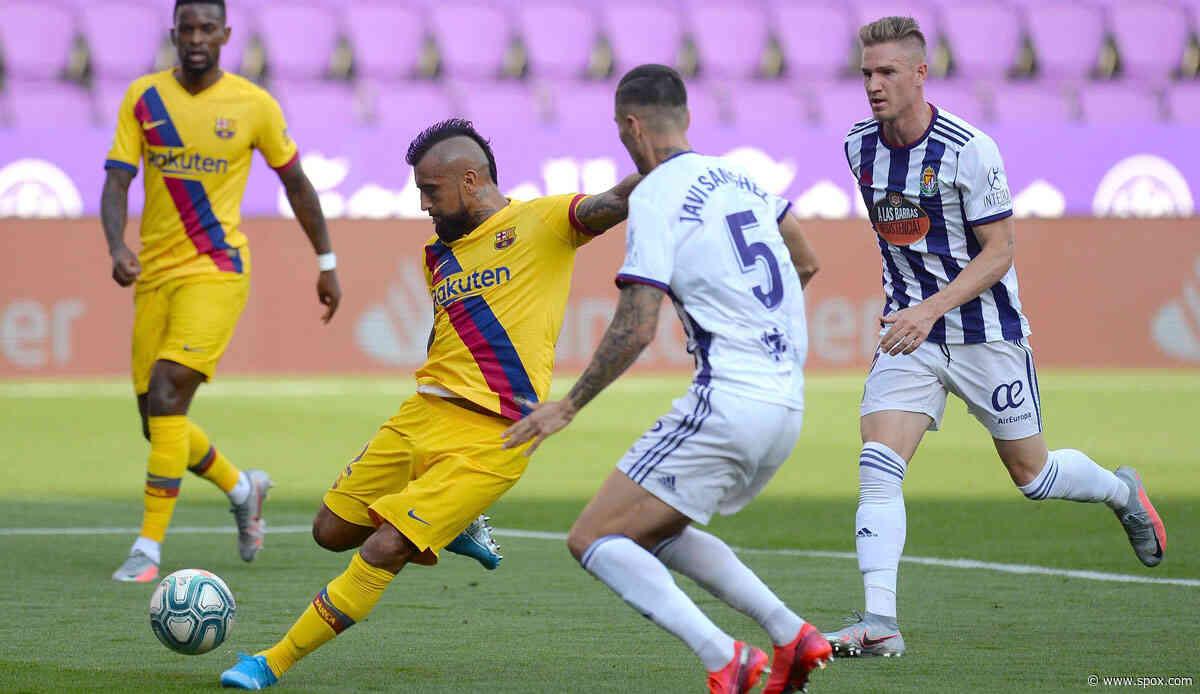LaLiga: FC Barcelona dank Arturo Vidal mit nächstem Zittersieg - 1:0 bei Real Valladolid - SPOX