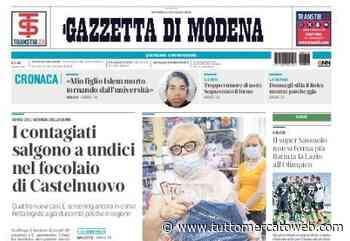 """Gazzetta di Modena: """"Il super Sassuolo non si ferma più. Battuta la Lazio all'Olimpico"""" - TUTTO mercato WEB"""