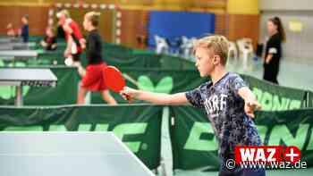 Bei Ferien-Kindern den Spaß am Tischtennis-Sport wecken - Westdeutsche Allgemeine Zeitung