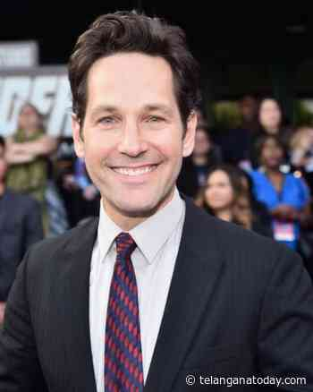 My default is comedy: Paul Rudd - Telangana Today