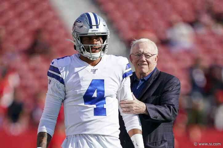 Report: Cowboys and Dak Prescott 'Not Close' On Contract Extension - Sports Illustrated