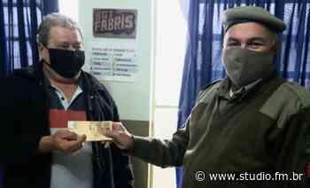Sargento da Brigada Militar devolve dinheiro encontrado em caixa eletrônico de Marau | Rádio Studio 87.7 FM - Rádio Studio 87.7 FM