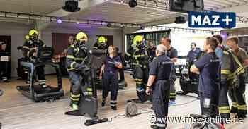 Feuerwehr aus Wittenberge und Perleberg testet Atemschutzgeräte im Fitnessstudio - Märkische Allgemeine Zeitung