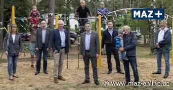 Wittenberge: Austrotherm sponsert Spielgerät für den Ortsteil Lindenberger - Märkische Allgemeine Zeitung