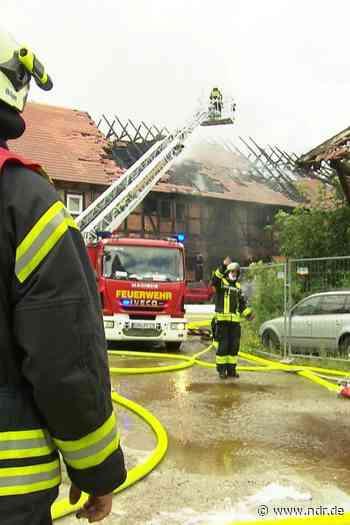 Wieder Brand in Einbeck - NDR.de