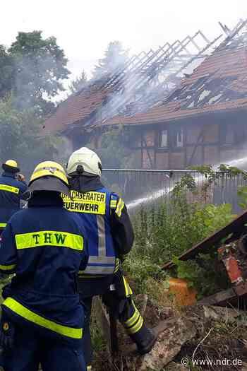 Einbeck: Feuer in Wohn- und Werkstatt-Gebäude - NDR.de