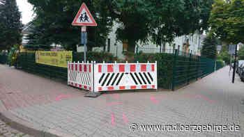 Olbernhau: Unfallautos krachen in Kita-Zaun - Radio Erzgebirge
