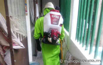 Continúan jornadas de limpieza por COVID en Cereso de Tecamachalco - Municipios Puebla