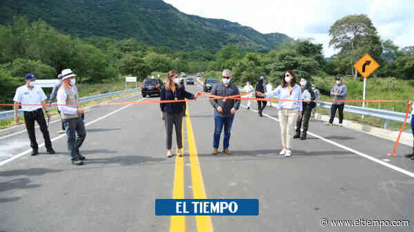Presidente Duque inauguró autopista 4G Girardot-Honda-Puerto Salgar - El Tiempo