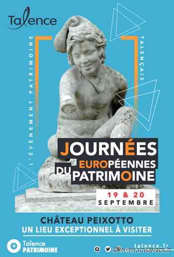 Journées européennes du patrimoine Château Peixotto samedi 19 septembre 2020 - Unidivers