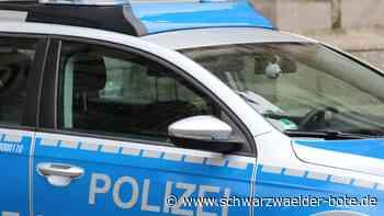 Villingen-Schwenningen - Verfolgungsjagd endet auf A 81 - Schwarzwälder Bote