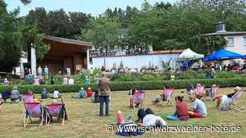 Villingen-Schwenningen - Idylle und Kultur: Sonntags im Kurpark - Schwarzwälder Bote