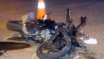 Reichelsheim (Odenwald): Unfall! Motorradfahrer schwer verletzt – Hubschrauber vor Ort - op-online.de