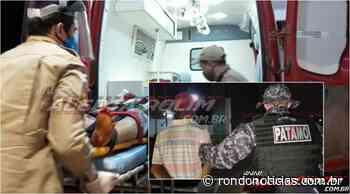 Homem é esfaqueado durante discussão, em Rolim de Moura - Rondo Notícias