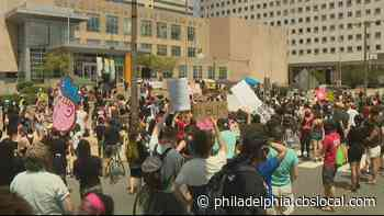 Hundreds March Through Philadelphia Streets Calling For Educational Justice For Black Students In Schools - CBS Philly