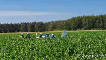 Pilot muss mit Motorsegler bei Geeste notlanden - Neue Osnabrücker Zeitung
