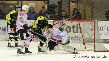 Eishockey: Eishackler Peißenberg verlieren bei EA Schongau mit 0:3 - Merkur.de