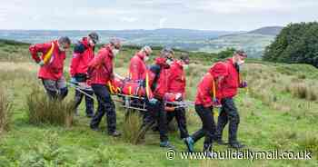 Dramatic rescue as Hull woman left in bad way after North York Moors fall - Hull Daily Mail