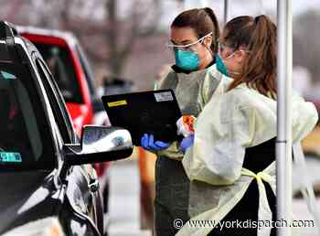 Sunday update: 18 new case of COVID-19 in York County, one new death - York Dispatch