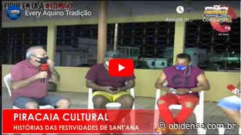 A tradição da Festividade contada por Every Aquino no programa Piracaia Cultura | Portal Obidense - Portal Obidense
